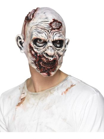 Zombie Mask, Foam Latex, Multi-Coloured