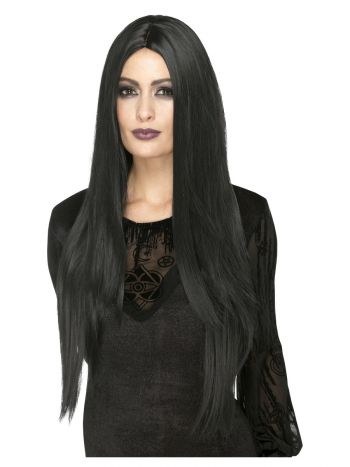Deluxe Witch Wig, Black