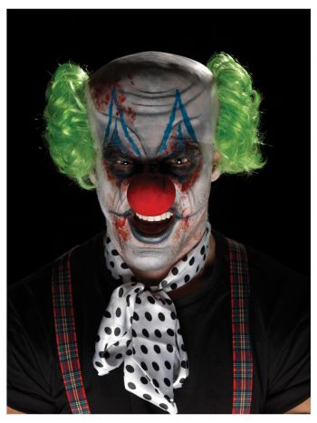 Smiffys Make-Up FX, Sinister Clown Kit, Aqua, Mult