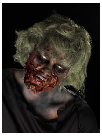 Smiffys Make-Up FX, Zombie Powder Dirt Kit, Aqua,