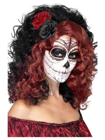 Day of the Dead Wig, Black