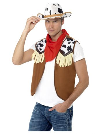 Instant Kit Wild West Male, Brown