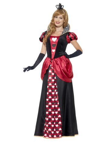 Royal Red Queen Costume, Red