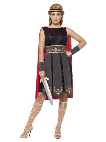 Roman Warrior Costume, Black