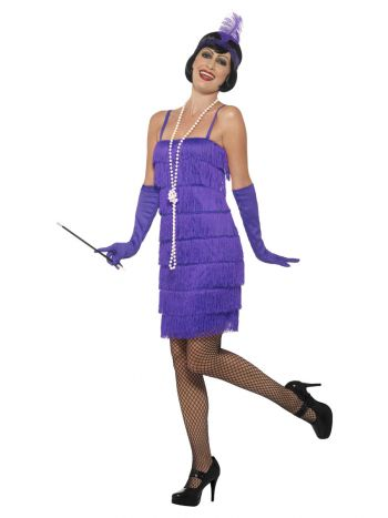 Flapper Costume, Purple