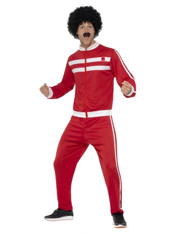 Scouser Tracksuit, Red & White