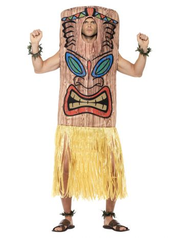 Tiki Totem Costume, Brown