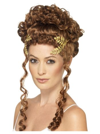Laurel Leaf Headpiece, Gold
