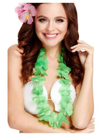 Hawaiian Lei, Neon Green