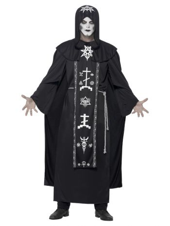 Dark Arts Ritual Costume, Black