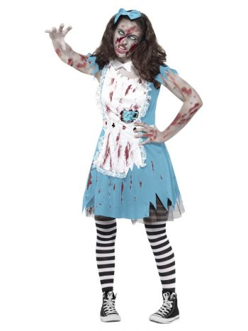 Zombie Tea Party Costume, Blue