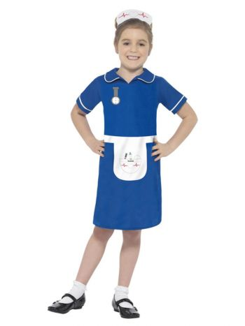 Nurse Costume, Blue