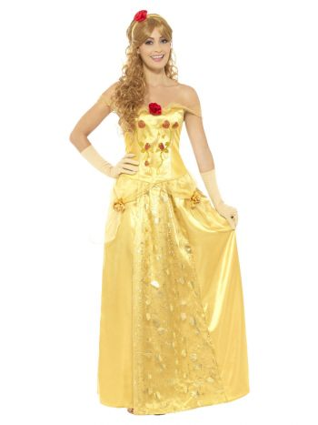 Golden Princess Costume, Gold
