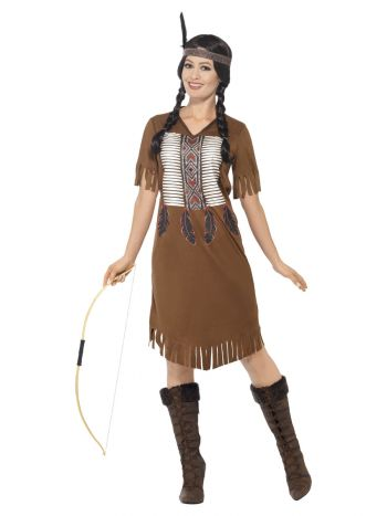 Native American Inspired Warrior Princess Costume,