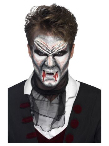 Smiffys Make-Up FX, Vampire Liquid Latex Kit, Asso