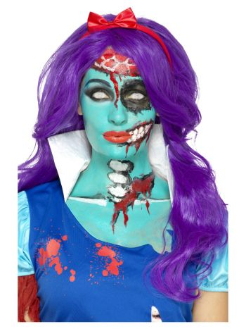 Smiffys Make-Up FX, Turquoise Liquid Latex Kit, Tu