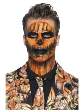 Smiffys Make-Up FX, Orange Liquid Latex Kit, with,