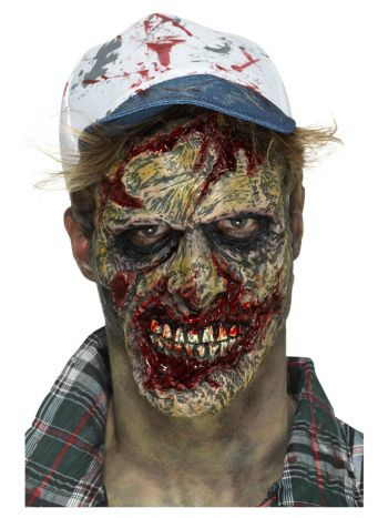 Smiffys Make-Up FX, Foam Latex Zombie, Brown