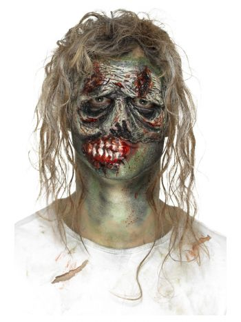 Smiffys Make-Up FX, Foam Latex Zombie, Green