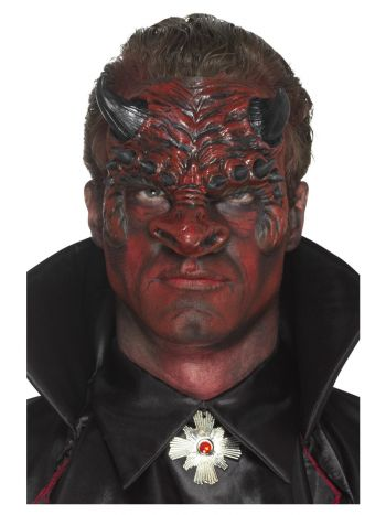 Smiffys Make-Up FX, Foam Latex Devil, Red