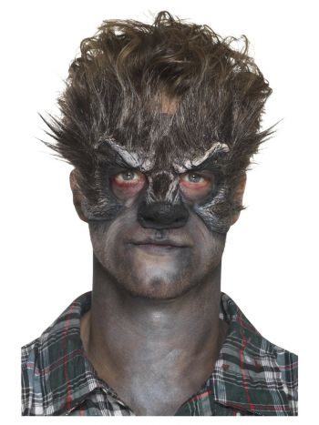 Smiffys Make-Up FX, Foam Latex Werewolf, Brown