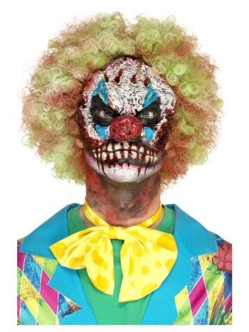 Smiffys Make-Up FX, Foam Latex Clown, White