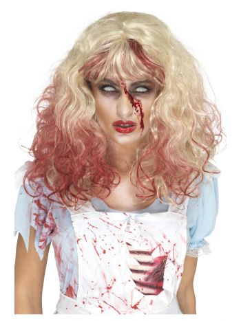 Zombie Bloody Alice Wig, Blonde