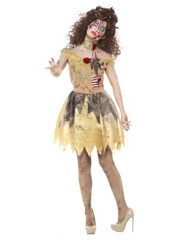 Zombie Golden Fairytale Costume, Yellow