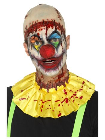 Latex Creepy Clown Instant Kit, Yellow