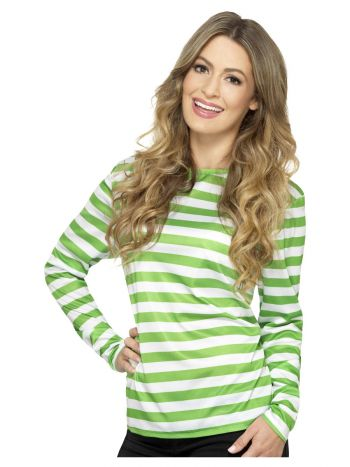 Stripy T-Shirt, Green