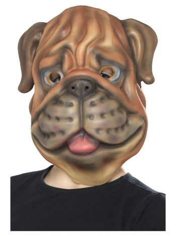 Dog Mask, EVA, Brown