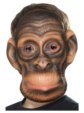 Chimp Mask, Brown