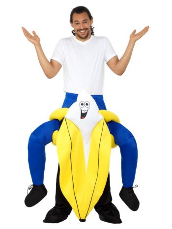 Piggyback Banana Costume, Yellow