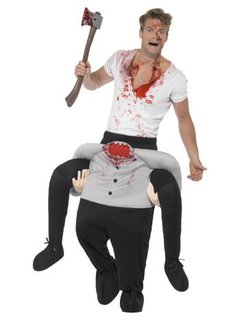 Piggyback Headless Costume