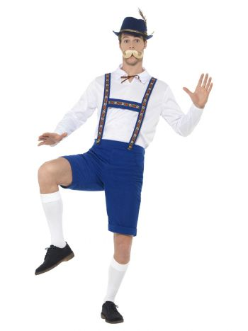 Bavarian Costume, Blue