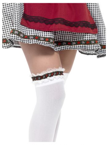 Bavarian Leg Garter, Red