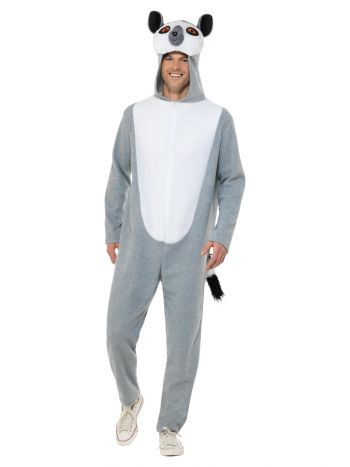 Lemur Costume, Grey