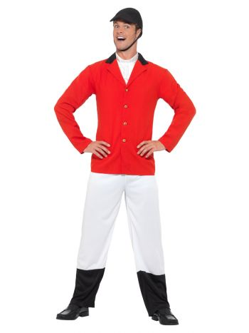 The Huntsman Costume, with Jacket, Red