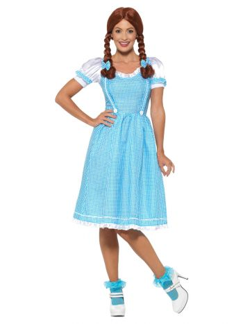 Kansas Country Girl Costume, Blue & White