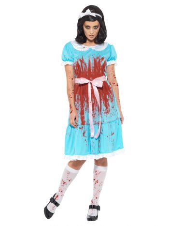 Bloody Murderous Twin Costume, Blue