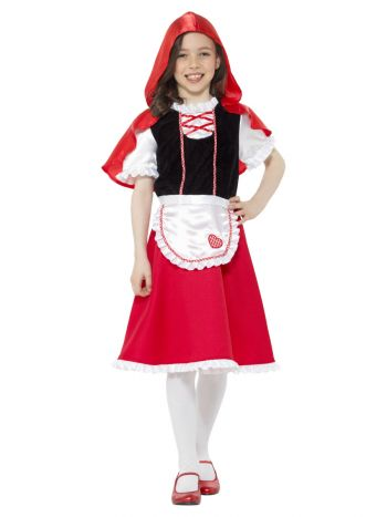 Red Riding Hood Girl Costume, Red
