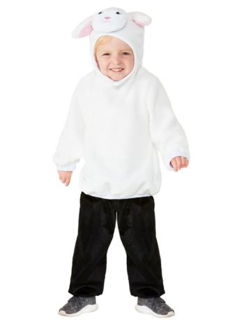 Toddler Lamb Costume, White