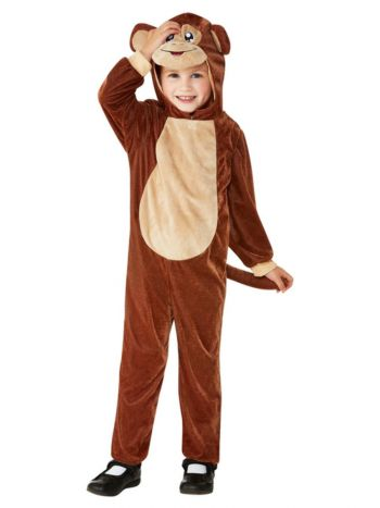 Toddler Monkey Costume, Brown