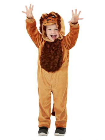Toddler Lion Costume, Brown