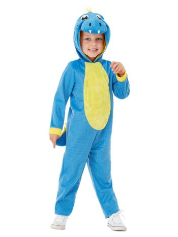 Toddler Dinosaur Costume, Blue