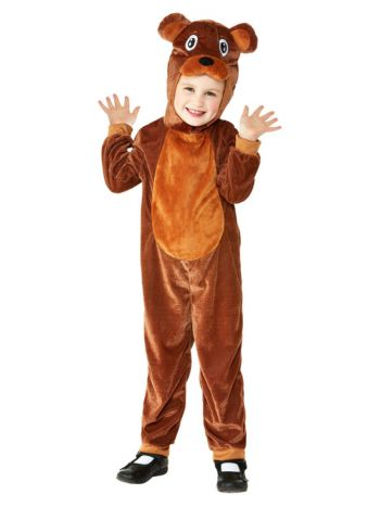 Toddler Bear Costume, Brown