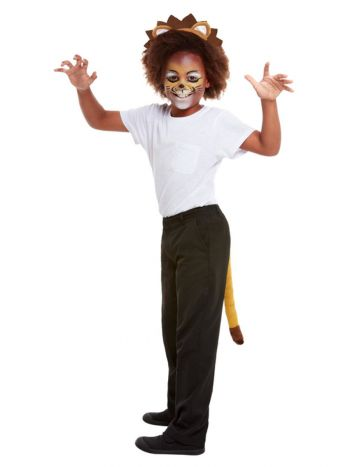 Smiffys Make-Up FX, Kids Lion Kit, Aqua