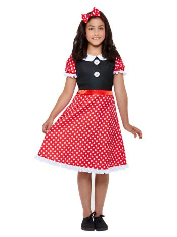 Cute Mouse Costume, Red & White