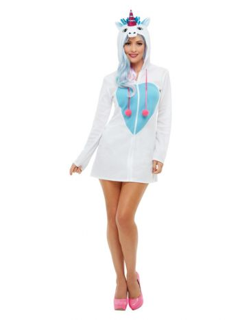 Unicorn Costume, White