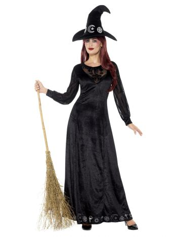 Deluxe Witch Craft Costume, Black